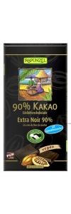 Bitterschokolade 90% Kakao mit Kokosblütenzucker Bio